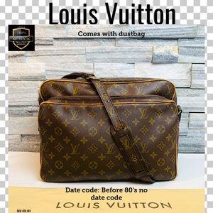 Louis Vuitton crossbody bag nile monogram
